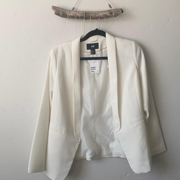 Never worn white blazer